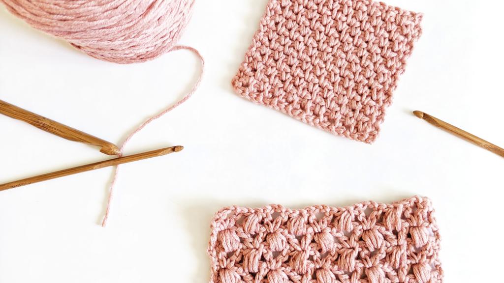 how to crochet the granite stitch