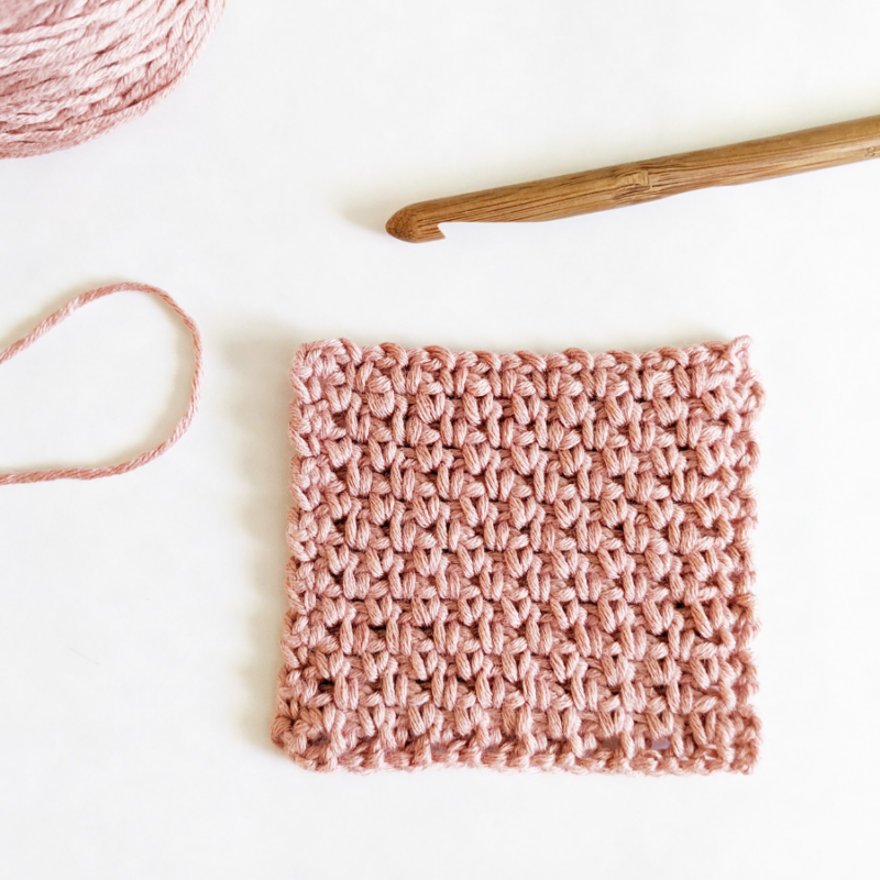 Learn How to Crochet the Granite Stitch With This Easy Tutorial