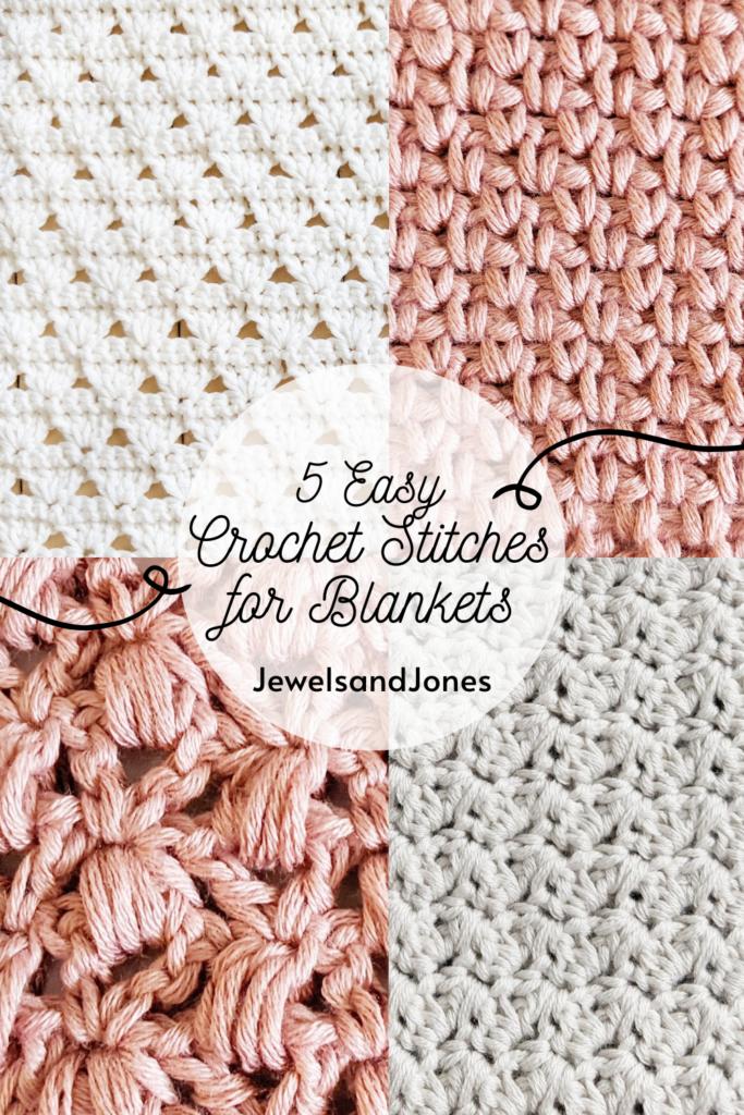 5 prettiest crochet stitches to make