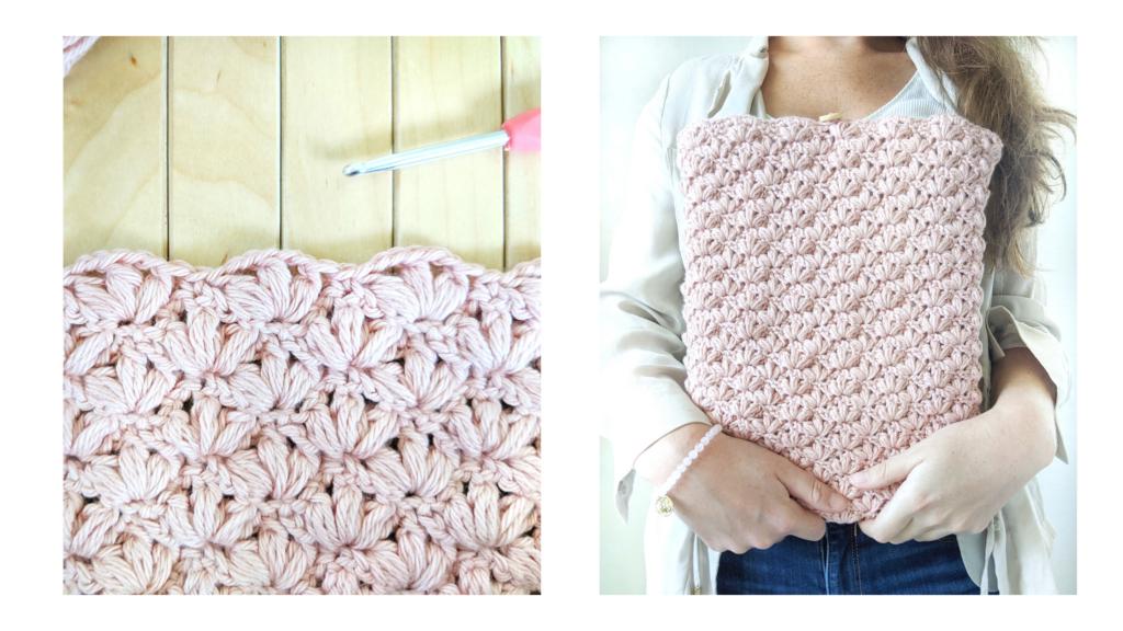 The Lotus Crochet Stitch,
