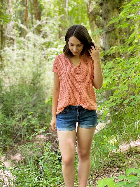 Camiseta de verano dulce