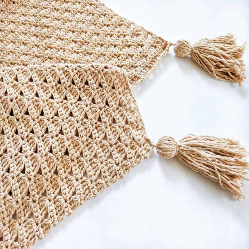 How to Add Tassels to a Crochet Blanket