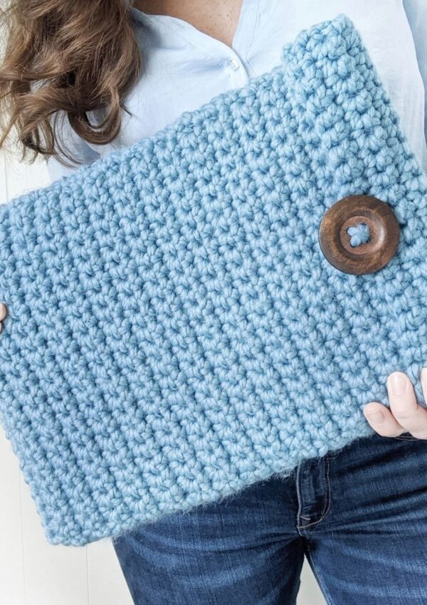 How to Crochet Laptop Cover in Any Size
