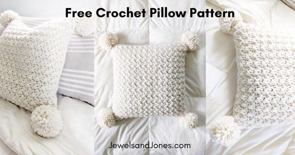 a free crochet pillow pattern
