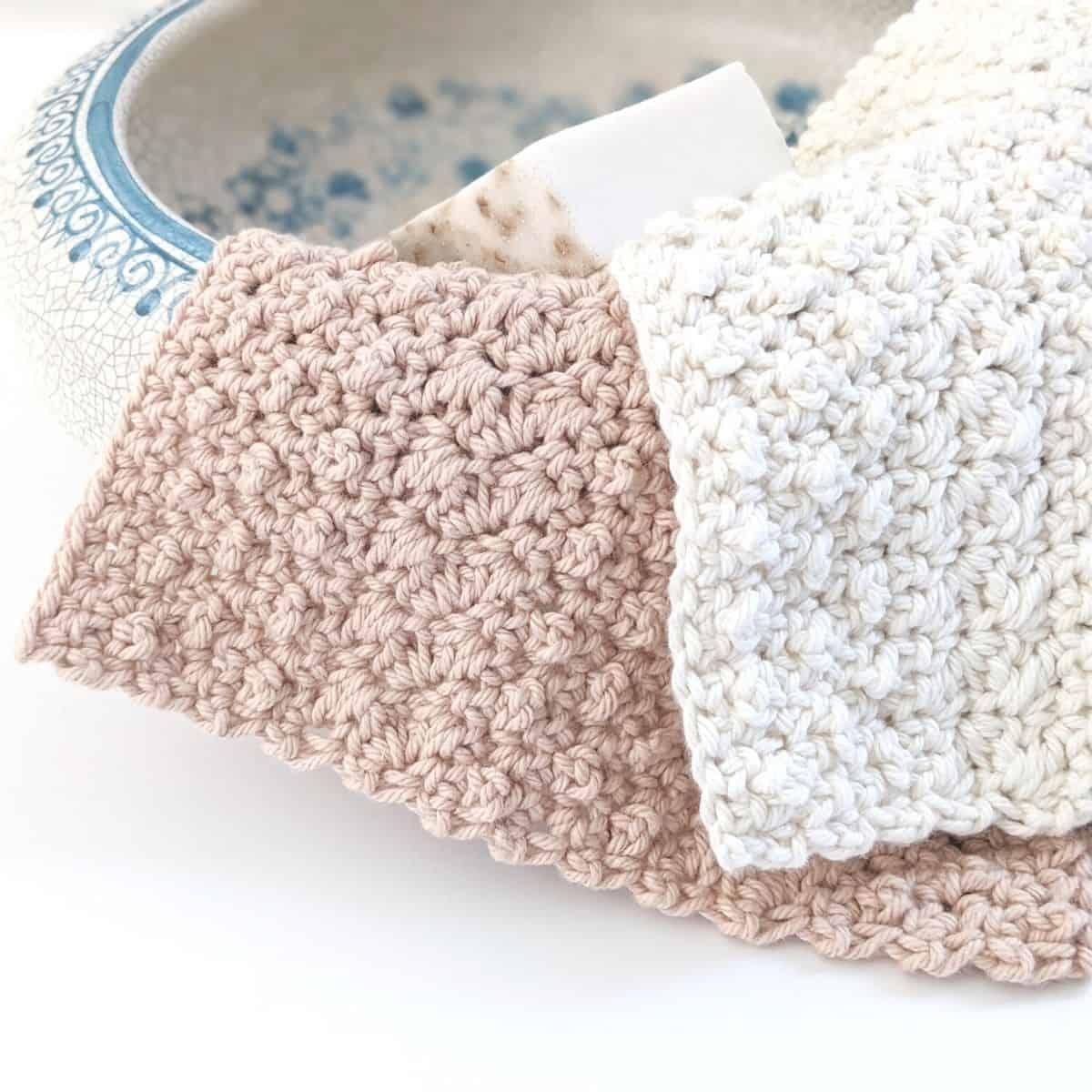 Rustic Cotton Dishcloth – Free Crochet Pattern